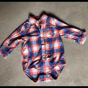 Boys button up long sleeve size 24 months
